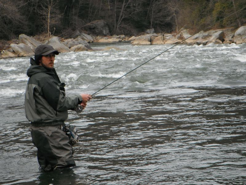 Fishing mania for Youghiogheny river fishing